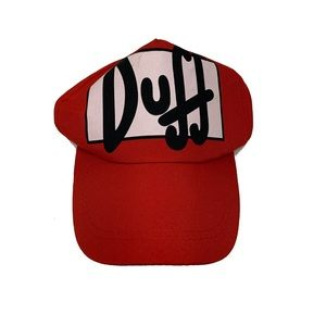 🍩 The Simpson's Duff beer fitted hat (OS)